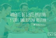 Frases de superación : Rodéate de gente positiva